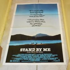 original STAND BY ME one-sheet poster Wil Wheaton River Phoenix Corey Feldman