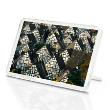 Historic German Fachwerkhaus Buildings Classic Fridge Magnet - Cool Gift #8927