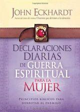 Declaraciones Diarias de Guerra Espiritual Para la Mujer Principios bblicos