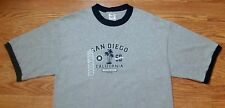 New San Diego California t-shirt (Large) Gray Color w/ Blue / Cotton Blend
