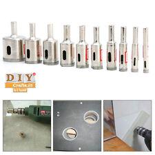 DIY Crafts® 10pcs 6mm-32mm Diamond Tool Drill Bit Hole Saw Glass Ceramic Marbleh