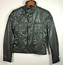 Belstaff Leather Classic Gemini Fashion Jacket Blouson Size 42 Made in Italy NWT