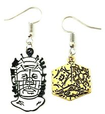 Pinhead Hellraiser Cube HORROR MOVIES Novelty French Wire Dangle Earrings