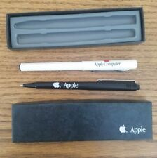 Vintage Apple Computer Pen & Pencil Macintosh 2000s Solid Logo Lisa Jobs