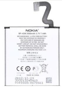 NEW OEM Original Genuine Nokia BP-4GW Lumia 920 920T Internal Battery
