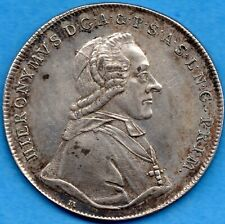 Austria Salzburg 1791 M Thaler Silver Coin - Dav-1265