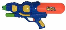 "LARGE 16"" Super Pump Action Water Gun Pistol Fight Drench Cannon Soaker Toy 797"