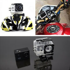 Motorcycle Camera 2 in Sport DV LCD Screen Diving Waterproof Cover Camcorder Cam