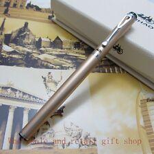 0.38 Fine Fountain Pen Jinhao Gold EF Finance pen Diamond pen top metal Gift pen