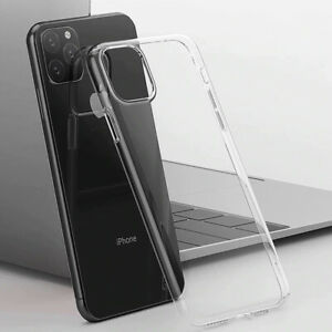 Silicon Clear Soft TPU Phone Case For iPhone 12 mini 11 Pro Max 7 8 Plus 7P 12 6