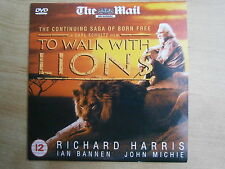 DVD - To Walk with Lions - Richard Harris -  Romantic