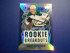 2013-14 UD  ACETATE ROOKIE BREAKOUT CARD #RB14 - ALEX CHIASSON
