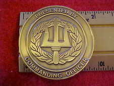 US NAVY SEAL TRIDENT SPEAR Anti-Terrorism Challenge Coin Jet Subs