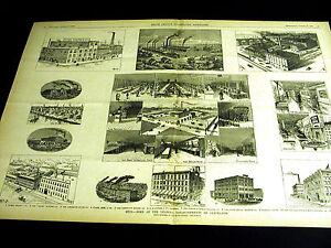 Cleveland Ohio MYERS OSBORN BRUSH POTTER TAYLOR BOGGIS LEVAN JENKS 1888 Lg Print