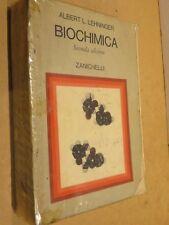 BIOCHIMICA Le basi molecolari della struttura Albert L Lehninger Zanichelli 1979