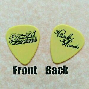 OZZY OSBOURNE band logo RANDY RHOADS signature guitar pick -(W-2315)