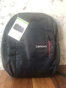 "Lenovo Laptop Backpack B515 Black & Red 15.6"" NWT"