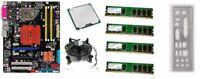 scheda madre ASUS P5N-D+ cpu Intel core Duo E7500 2,93ghz + 8gb ram + shield I/O