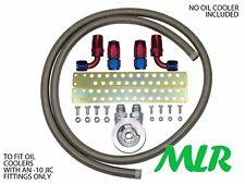 Clio MK2 172 182 MK3 197 -10 S / Stahl Geflechtschlauch Ölkühler Montagesatz