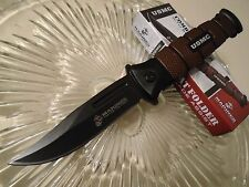 "United USMC Jar Head Assisted Open Combat Tactical Pocket Knife 8 1/4"" Open 3161"