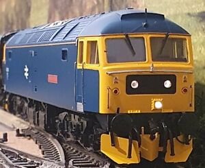 """Heljan Class 47 diesel in BR blue No. 47 840 """"North Star"""" DCC Fitted"""