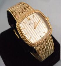 Donna Vintage TITAN Royale quadrato placcato oro orologio svizzero di marca Maglia ORIGINALE