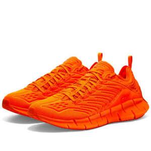 {FW6037} Men's Reebok x MITA ZIG KINETICA SHOES - Orange *NEW*