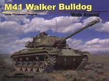 Squadron Signal Books 27024 - M41 WALKER BULLDOG   WALK AROUND  Soft Cover