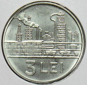 Romania 1966 3 Lei 152836 combine shipping