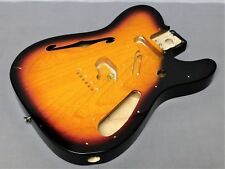 Fender Classic Telecaster '69 Thinline Reissue Ash Body Sunburst Tele Guitar