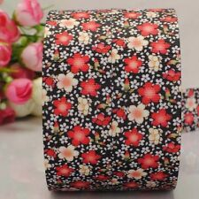 1m X 22mm Grosgrain Ribbon Craft DIY Cake Decorations Hair Bows - Flowers