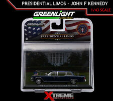 GREENLIGHT 86110-A 1:43 JOHN F KENNEDY 1961 LINCOLN PRESIDENTIAL LIMO