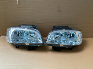 For SEAT IBIZA, SEAT CORDOBA (1999-2002) FRONT HEADLIGHT PAIR(LEFT+RIGHT)(H7+H1)