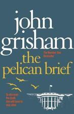 El Pelícano Braga por John Grisham Libro de Bolsillo 9780099537168 Nuevo