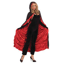 LADIES SEXY #VAMPIRE GOTHIC CAPE FANCY DRESS WITCH HALLOWEEN OUTFIT