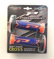 Pro Grip Triple Compound mx Grips PG788 Flo Orange Blue