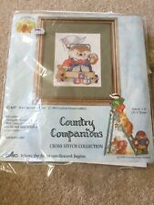 country companions cross stitch kit 1993 Hedgehog