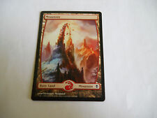 1x MTG TEXTLESS Montagna-Mountain Magic EDH ZEN Zendikar ITA-ING 244/249 x1