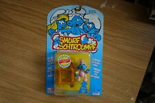 """1996 Toy Island Irwin """"THE SMURFS"""" (BABY SMURF) Poseable Figure Schtroumpf"""