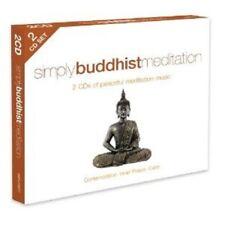 SIMPLY BUDDHIST MEDITATION  2 CD NEW+