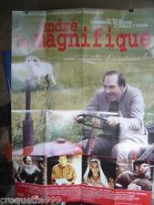 affiche cinema 2000 ANDRE LE MAGNIFIQUE Vuillermoz Candelier Porraz Ligardes