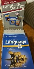 5th Gr Language Arts Work-Text&Key/Quizzes /Te&Key/Lesson Plans Vgood Pn/Tn Free