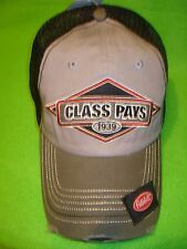 PETERBILT HAT          CLASS PAYS / 1939 / TRUCKERS CAP / FREE SHIPPING IN USA
