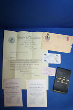 Original U.S. Civil War Sons of Veterans and Sons of the Revolution Items Lot