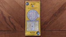 Carte Michelin « Wissembourg - Belfort » N°87 1968 Bon Etat.