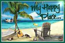 Hy Place Tiki Bar Decor Sign 8x12 All Weather Metal Margaritaville Luau Beach