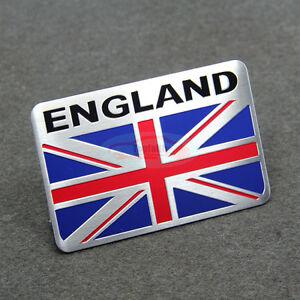 United Kingdom England Britain National flag Car Decal Emblem Badge Sticker