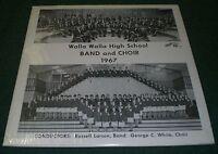 Walla Walla High School Band & Choir 1967~Russell Larson~NM Vinyl~FAST SHIP!