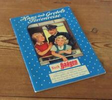 Hans und Gretels Ferienreise nach HAAGEN - Reklame Bilderbuch für Kinder - 1955