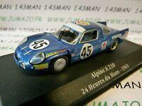 GOR14T Voiture saga GORDINI atlas ELIGOR : Alpine A210 24 H du Mans 1969 #45
